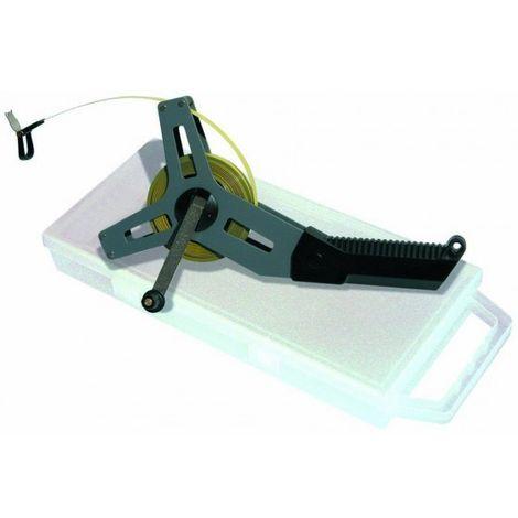 Quintuple décamètre ruban acier boitier acier - Taliaplast - 490307