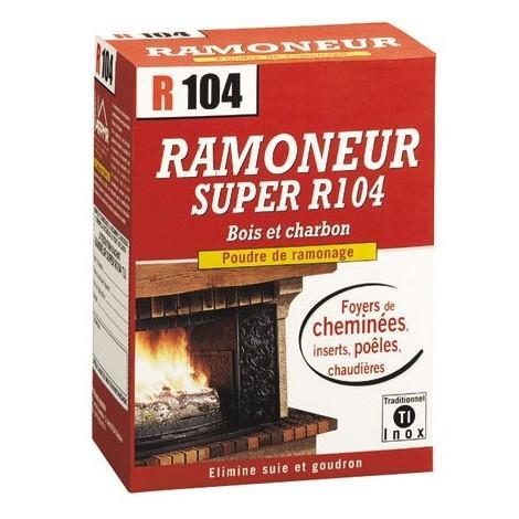 R104 - Super ramoneur R104 poudre de ramonage - 900 g
