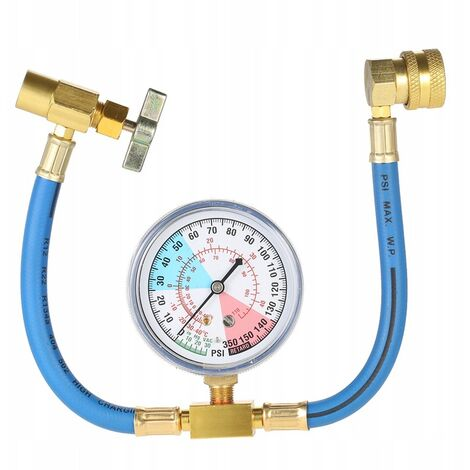 R134A Refill Pipe Automatic Car Refrigerant Filling Tube
