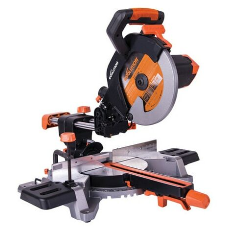 R255SMS+ 255mm Multi-material Sliding Mitre Saw. Available in 230V or 110V