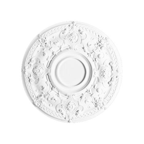 R38 Rosace décoration de plafond Orac Décor - ø 71cm - moulure polyuréthane - tube de colle : Sans tube de colle