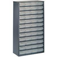 raaco 1224-02 Armoire à tiroirs (L x l x h) 306 x 150 x 552 mm Nombre de compartiments: 24