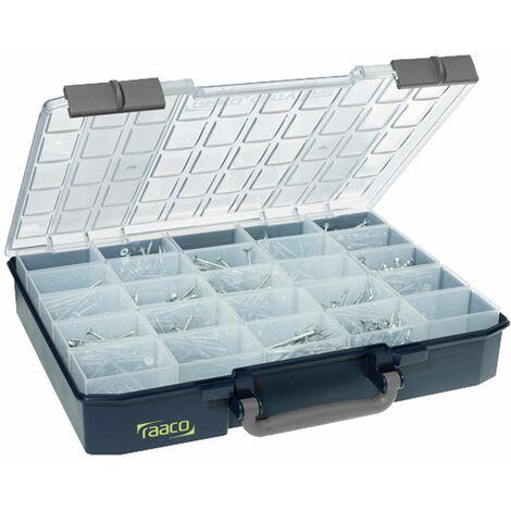 Raaco 136327 CarryLite 80 5x10-25 With Single 'U' Profile Lid Service Case