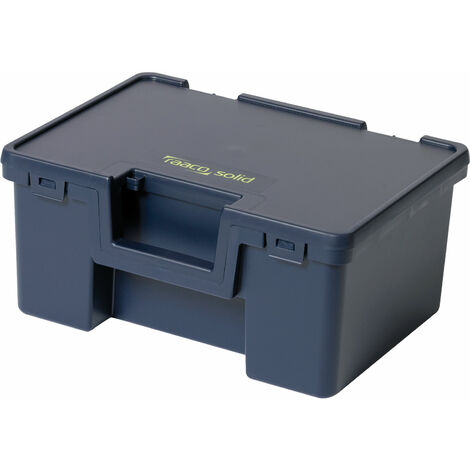 Raaco 136754 Solid 1 Box 125 x 275 x 175mm Blue