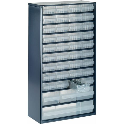 Raaco 137430 1200 Series 1240-123 Cabinet 40 Mixed Drawers