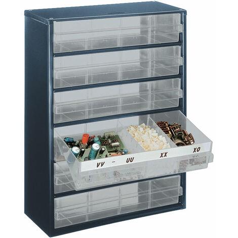 Raaco 137485 900 Series 906-03 Cabinet 6 Drawers