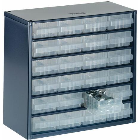 Raaco 137546 600 Series 624-01 Cabinet 24 Drawers