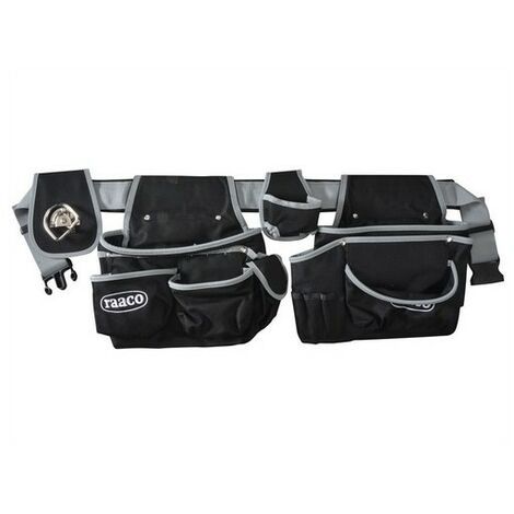 Raaco 760096 Tool Belt with Quick Release Buckle