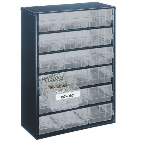 RAACO - armario de metal 40 cajones
