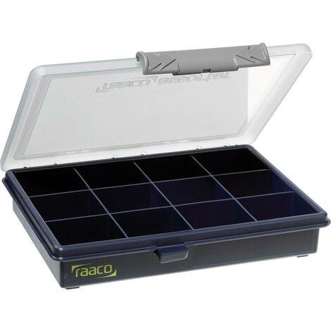 raaco Assorter 6-12 Boîte de rangement (L x l x h) 175 x 143 x 32 mm Nombre de compartiments: 12 séparations fixes
