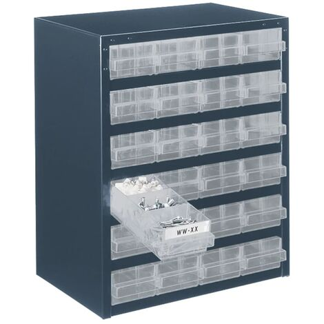 Raaco Cabinet 250/24-1 with 24 Drawers 137577