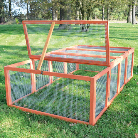 Rabbit hutch / chicken coop rabbit run, guinea pig hutch, chicken hut 100 x 181 x 48 cm
