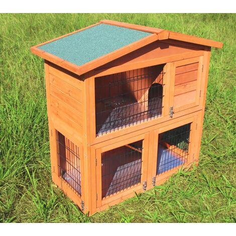 Rabbit hutch / chicken coop rabbit run, guinea pig hutch, chicken hut 100 x 45 x 90 cm