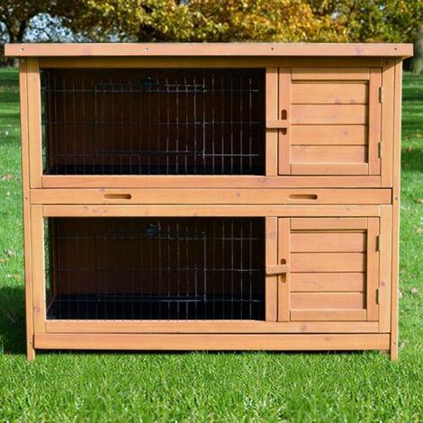Rabbit hutch / chicken coop rabbit run, guinea pig hutch, chicken hut 116 x 63 x 98 cm