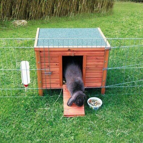 Rabbit hutch / chicken coop rabbit run, guinea pig hutch, chicken hut 42 × 43 × 51 cm