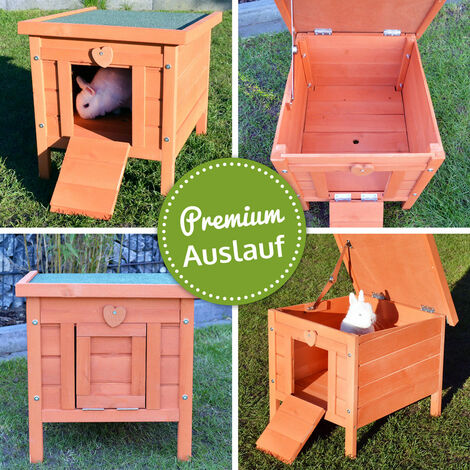 Rabbit hutch / chicken coop rabbit run, guinea pig hutch, chicken hut 51,5 x 42 x 43 cm
