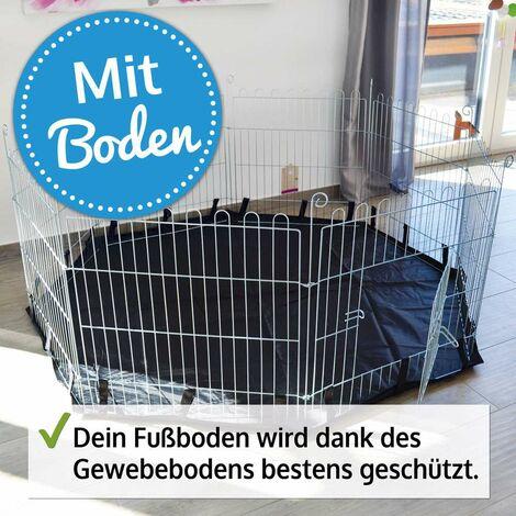 Rabbit hutch / chicken coop rabbit run, guinea pig hutch, chicken hut 75X75 CM with floor protection: