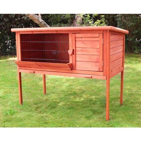 Rabbit hutch / chicken coop rabbit run, guinea pig hutch, chicken hut l91,5 x L45 x H80,8 cm