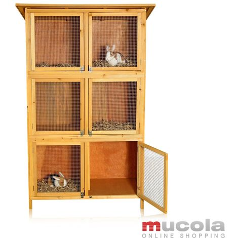 rabbit hutch rabbit cage small animal hutch free run open enclosure rabbit hutch wood