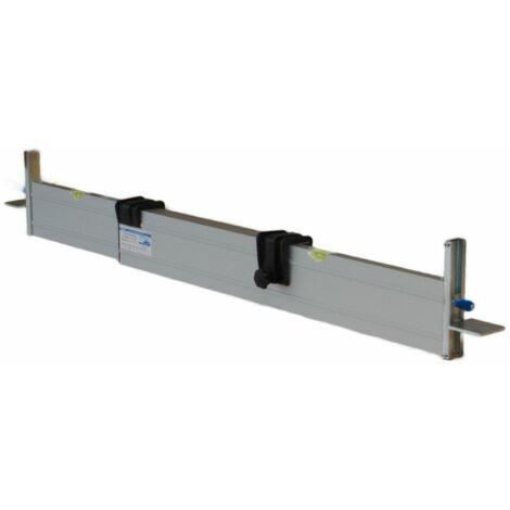 """main image of """"rabo stufenlos verstellbare Abziehschiene (außen) 0,80-1,40m, mit 2 verstellbaren Höhenanschlägen C-Schiene, stufenlos verstellbar 0-11cm"""""""
