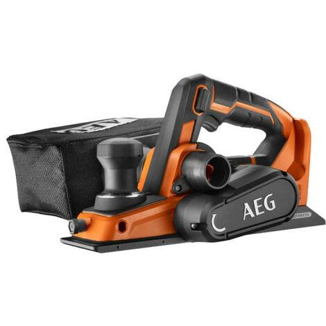 Rabot AEG 18V Brushless 82mm - Sans batterie ni chargeur BHO18BL-0