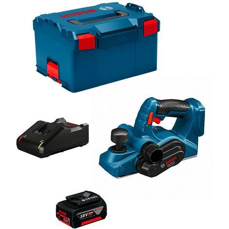 Rabot BOSCH GHO 18 V-LI (1 x 5,0 Ah GAL1880CV L-Boxx 238)