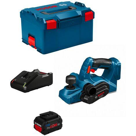 Rabot BOSCH GHO 18 V-LI (1 x 8,0 Ah GAL18V-40 L-Boxx 238)