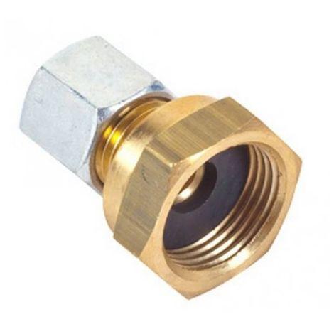 """main image of """"Raccord 20x150 bicone pour tuyau diamètre 8mm extérieur"""""""