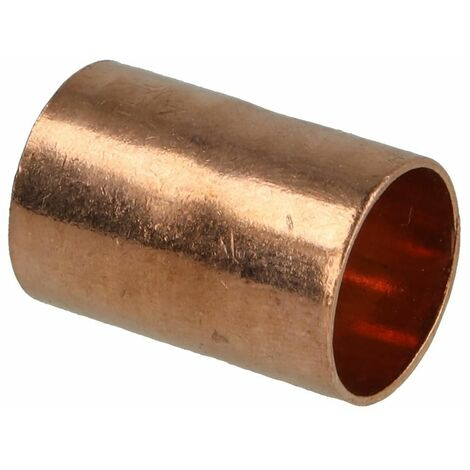 Raccord à braser cuivre manchon 16 mm F/F