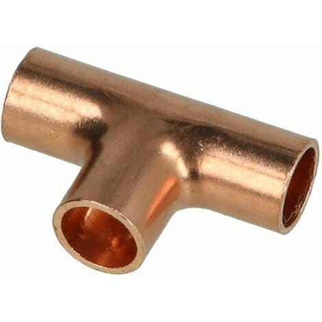 Raccord à braser cuivre té 16 x 16 x 16 mm