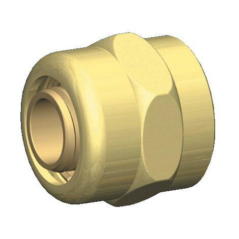 Raccord à compression écrou Femelle - serrage Rétigripp pour tube PER
