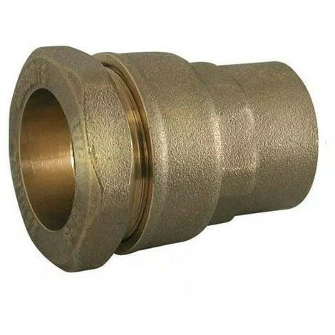 Raccord de tuyau hexagonal 1 1//4 1//2 3//4G Connecteur de tuyau femelle Sourcing map Bouchon en laiton