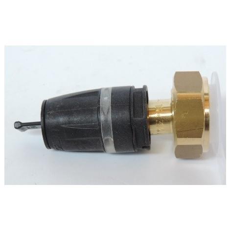 "Raccord à écrou tournant pour tube multicouche Ø 16mm sortie F20X27 (3/4"") bi-matière laiton / PPSU TECELOGO TECE 8730202"