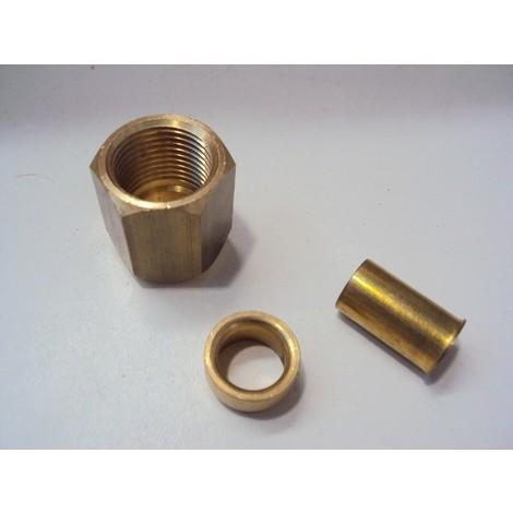 Raccord à sertir 5/8 pour liaison frigo cuivre (KAST0010A) SERTO EID FT58