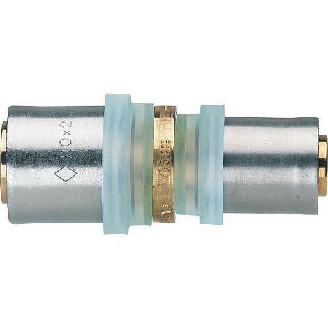 Raccord a sertir multicouche couplage reduction, contour TH 20x2 - 18x2mm