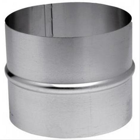 Raccord aluminium pour gaine de ventilation TEN Diam110/116mm