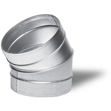 Raccord - Angle métal 30° 160mm - Winflex ventilation