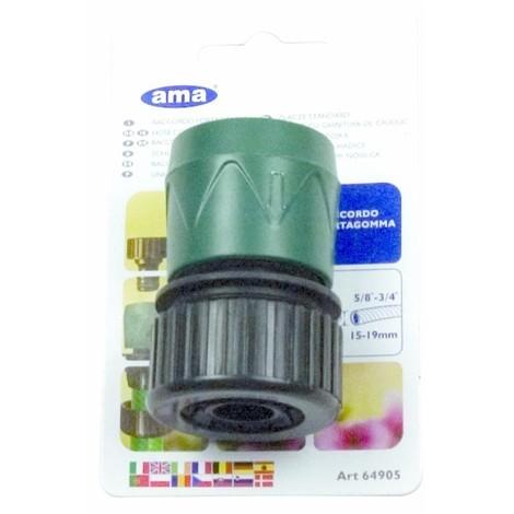 Raccord automatique pour tuyau d'arrosage de 15 à 19 mm