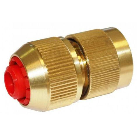 Raccord automatique rapide laiton aquastop diam 15mm ou 19mm BOUTTE - diamètre: 15 mm