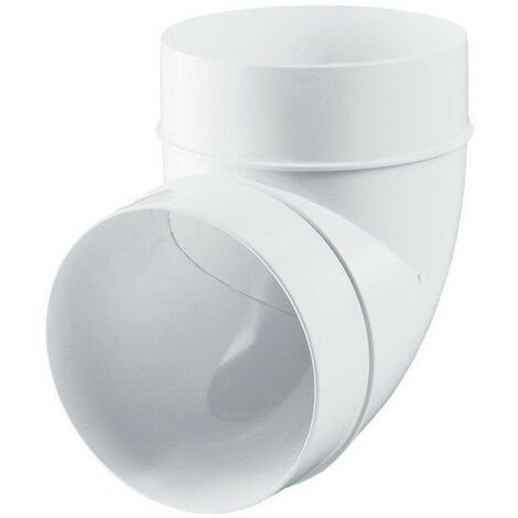 Raccord coude - 100mm 90° - Winflex ventilation