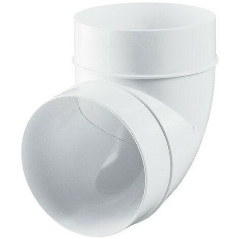 Raccord coude - 125mm 90° - Winflex ventilation