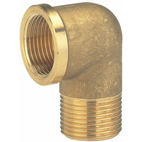 Raccord coudé de tuyau GARDENA 7280-20 laiton 24,2 mm (3/4) (filet int.)
