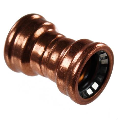 Raccord cuivre Push-Fit à clipser - Manchon FF