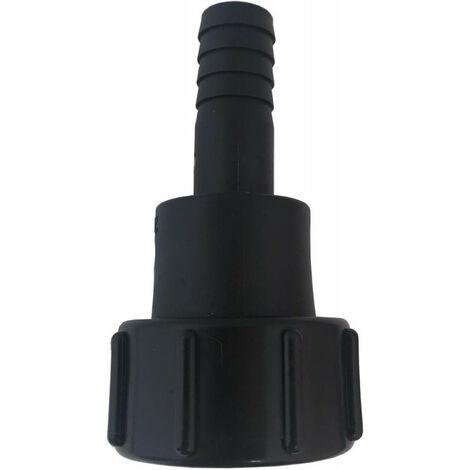 Raccord de bidon IBC avec buse rotative. PP.IBC IG 2 (S60x6) -3/4. 19mm