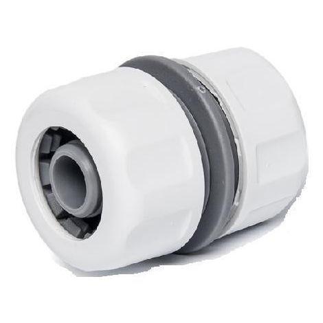 Raccord de jonction pour tuyau d'arrosage 19/19 mm WHITE LINE (Lot de 2)