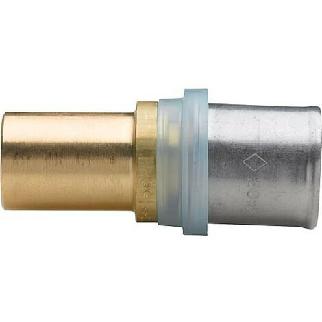 Raccord de transition EVENES multicouche acier/cuivre 16x2 - 15 mm