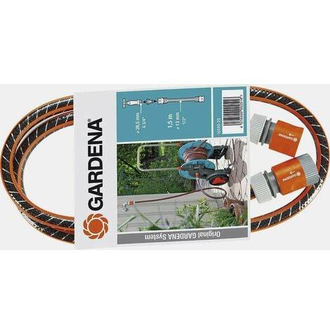 Raccord de tuyau 1/2 pouces GARDENA 18040-20 1.5 m noir, orange
