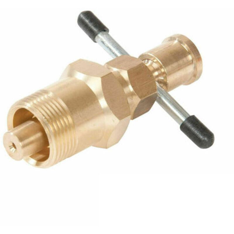Happyshopping - Raccord de tuyau en cuivre en laiton massif d'extracteur d'olive de 15 mm et 22 mm,modele:Or