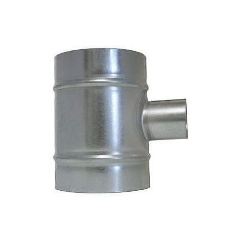 Raccord de ventilation en T - 2x125mm et 50mm - Winflex