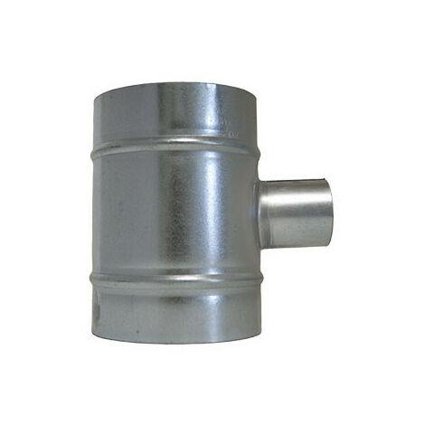 Raccord de ventilation en T - 2x160mm et 50mm - Winflex